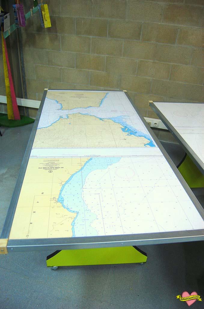 mesas personalizadas para el CEEIC