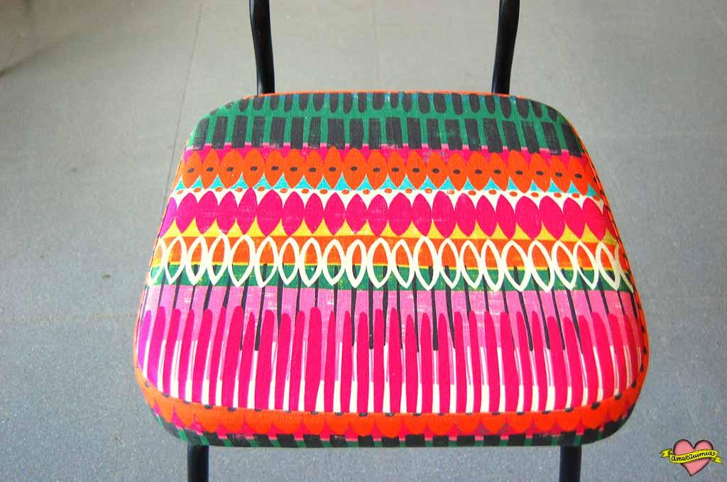 sillas tapizadas