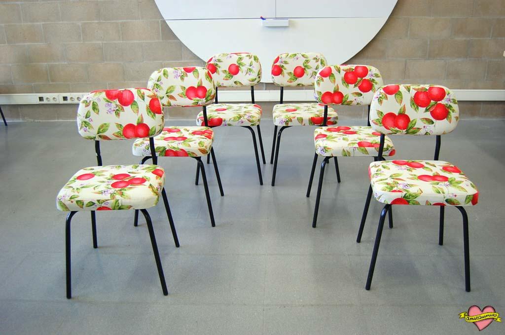 sillas telas originales
