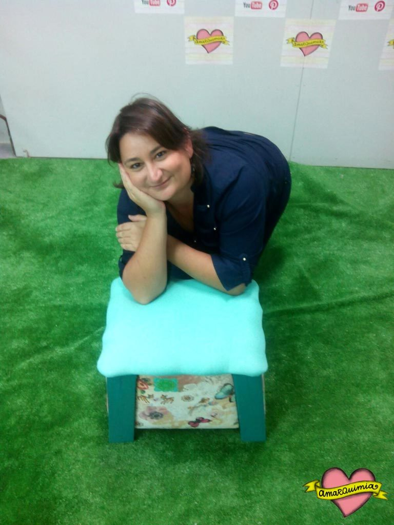 cristina en el taller reciclaje cartagena
