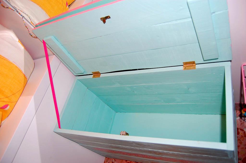 interior baúl madera de palet reciclada