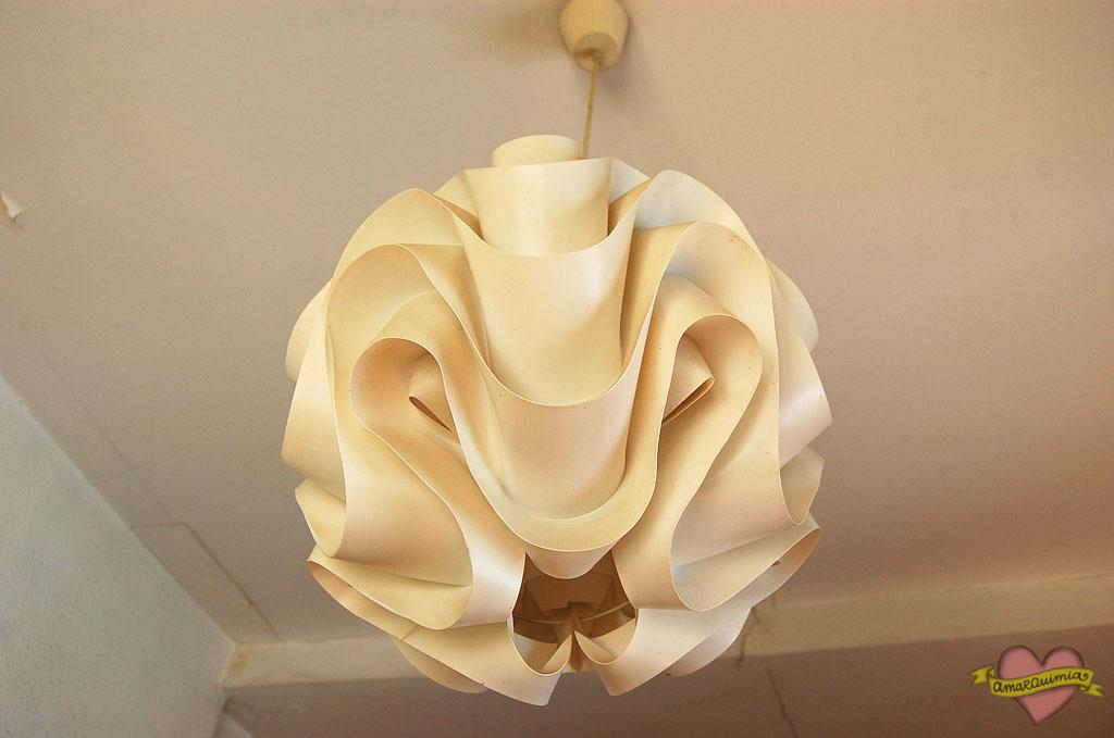 lámpara años 60 vintage