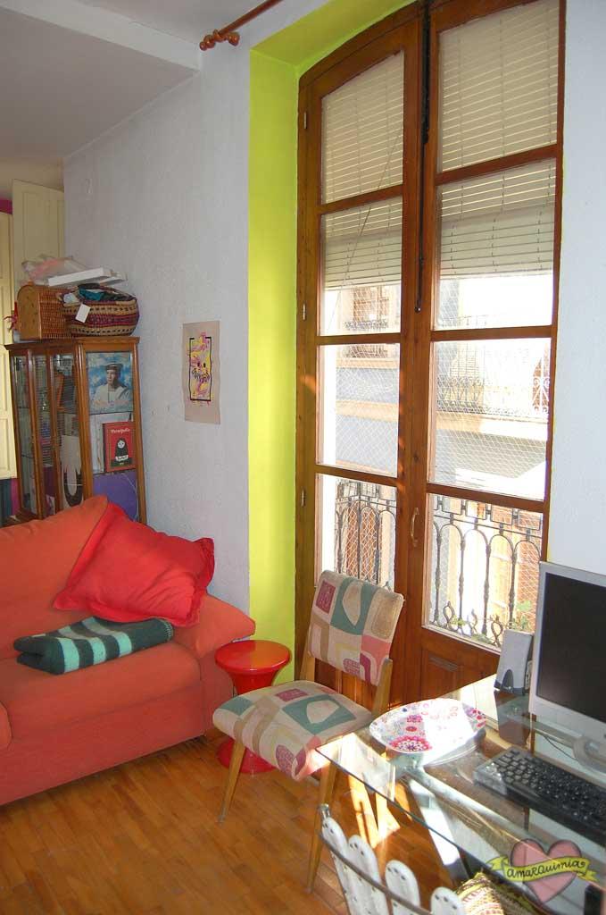 rincón salón vintage casa antigua centro de Alicante
