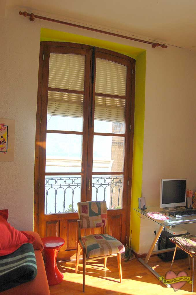 salón vintage casa antigua centro de Alicante