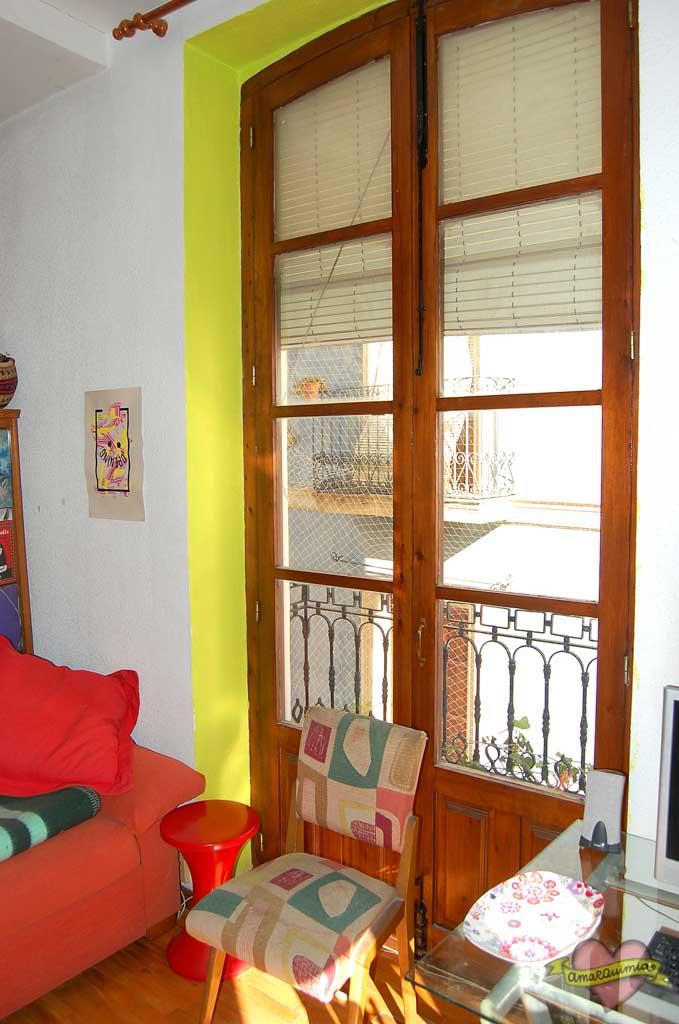 ventanal grande casa antigua centro de Alicante