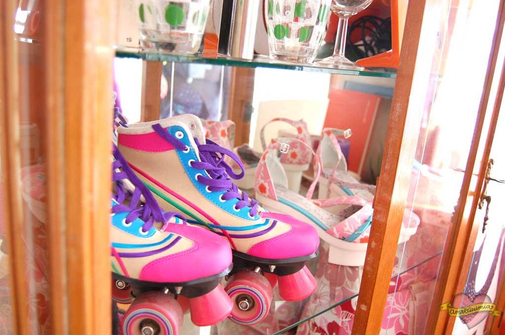 zapatos decorando toque chic