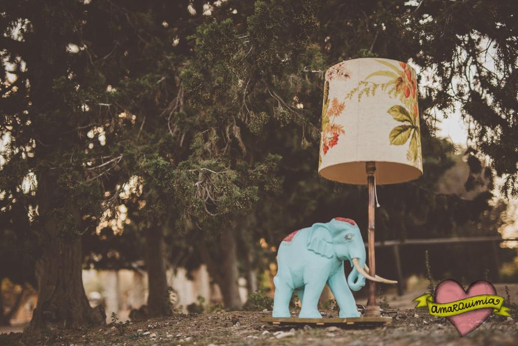 53-lámpara elefante diseño y artesanía