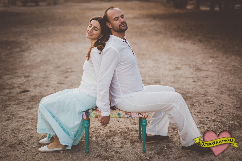 60-amor pareja sesión de fotos recuperación de muebles Cartagena Murcia Alicia