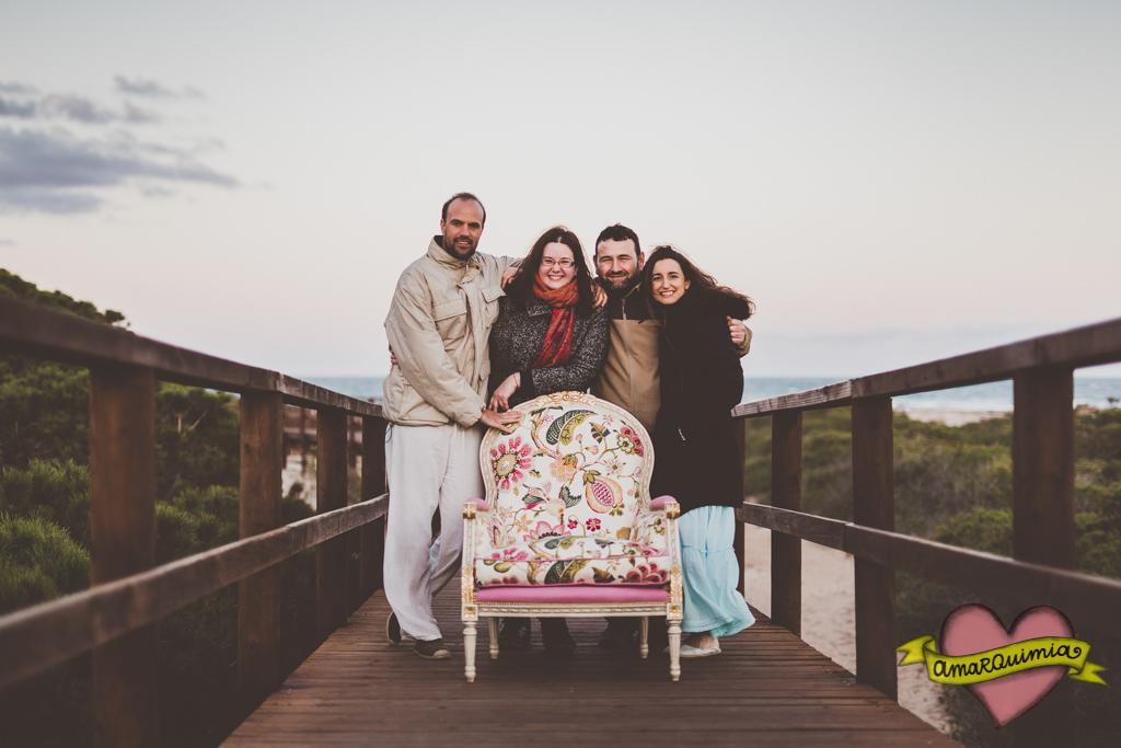 72-foto de grupo sesión tapicería artística y amor Cartagena Murcia Alicante