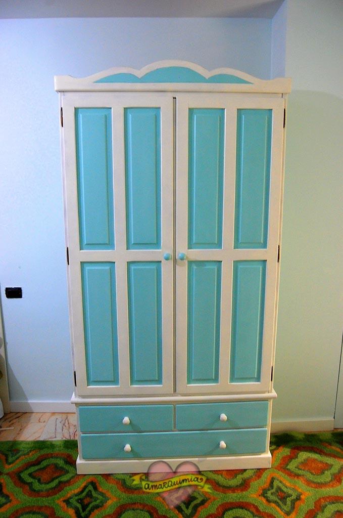 transformación y personalización armario de madera Murcia Alicante Cartagena