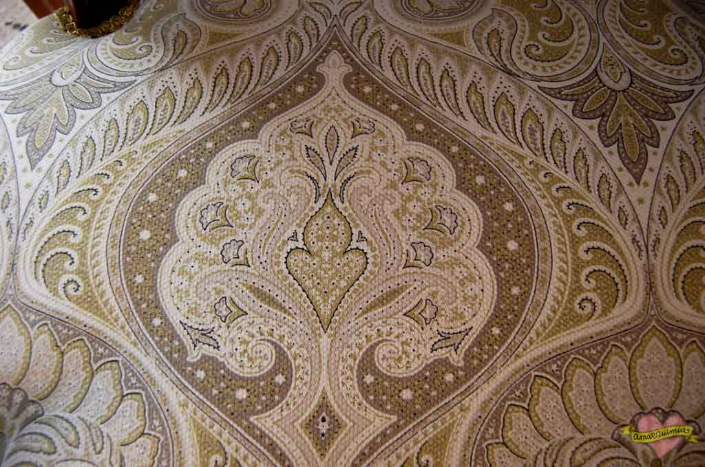 detalle tela hindú decoración