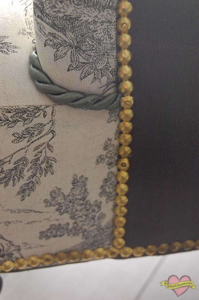 detalle tapicería sillones toyle de jouy Cartagena Murcia Alicante