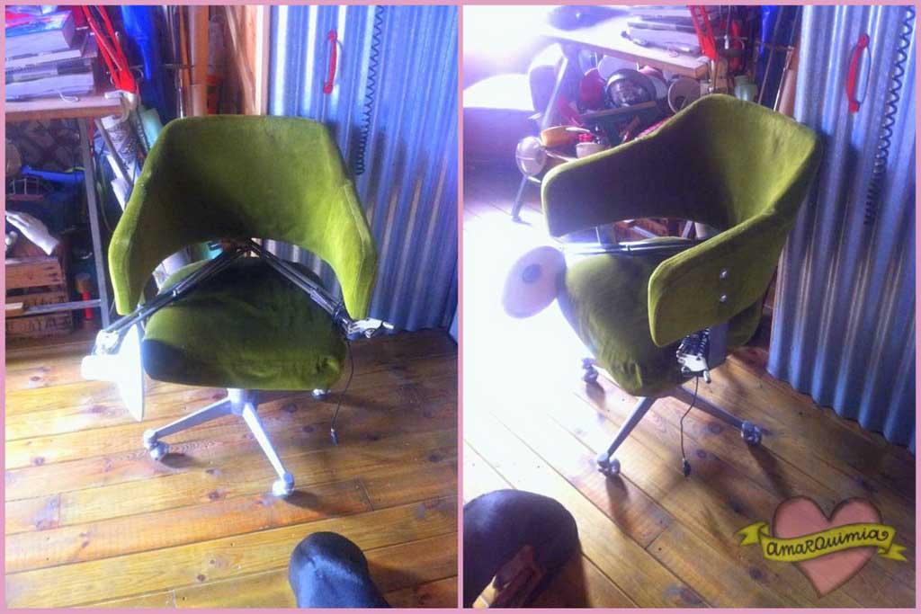 sillón de despacho años 60 pendiente de recuperar