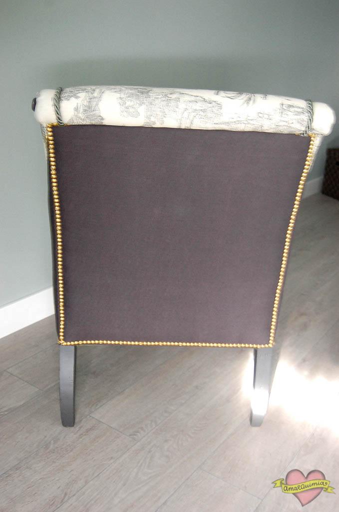 trasera diseño y tapicería sillones Alicante