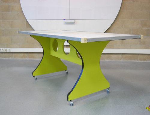 Diseño y transformación mesas para sala creativa CEEIC