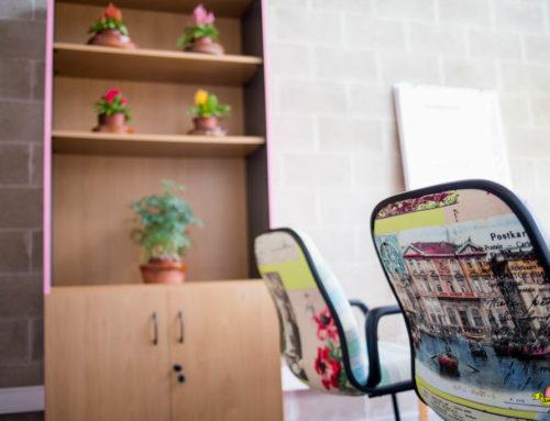 Diseño y tapicería sillas de oficina sala creativa CEEIC