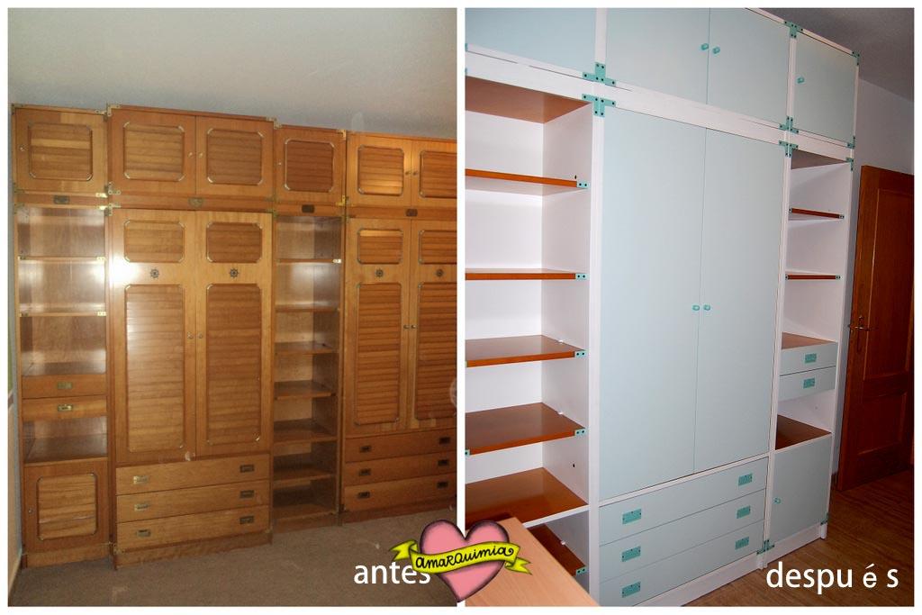 De dormitorio infantil a despacho de adulta: transformación de un armario-librería con muchas vidas