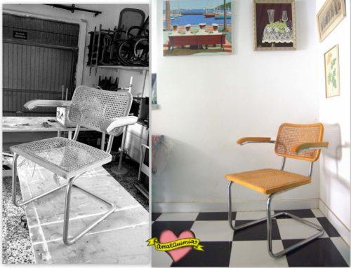 Sustitución rejilla de ratán en muebles