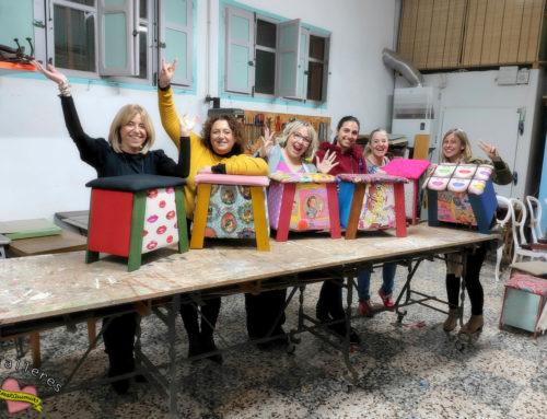 Cierre de temporada de talleres Amarquimia: 2 diseños nuevos y consolidación del banquito como taller estrella